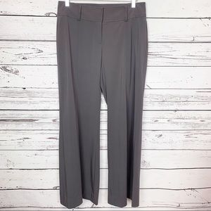 CABI gray lauren trousers reg 8 NWT